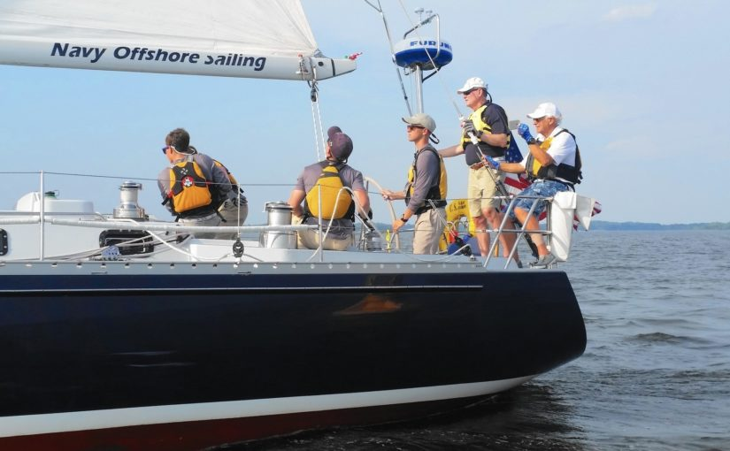 USNA Midshipmen Sailing Squadron Visit to Boston Port
